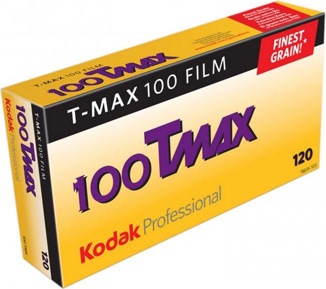 KODAK T-MAX TMX 100 B&W 120X5 - zdjęcie główne