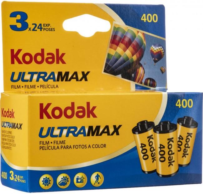 Kodak 135 ultramax carded 400-24x3 - zdjęcie główne