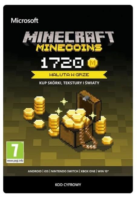 Minecraft Minecoins Pack 1720 Coins ESD (XONE) - zdjęcie główne