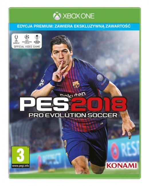 Pro Evolution Soccer 2018 Premium Edition (XONE) - zdjęcie główne