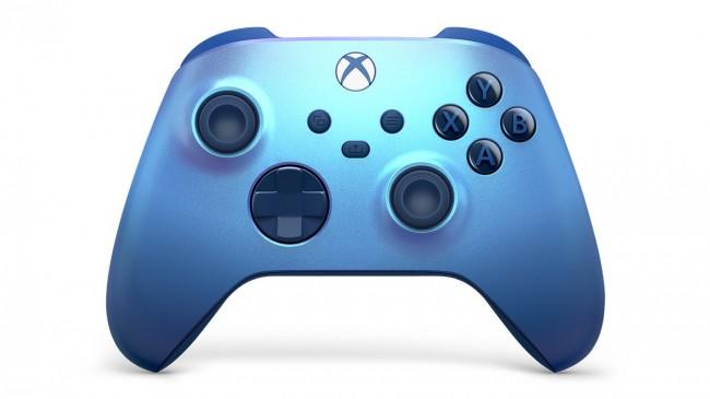 Microsoft Xbox kontroler bezprzewodowy Aqua Shift - zdjęcie główne