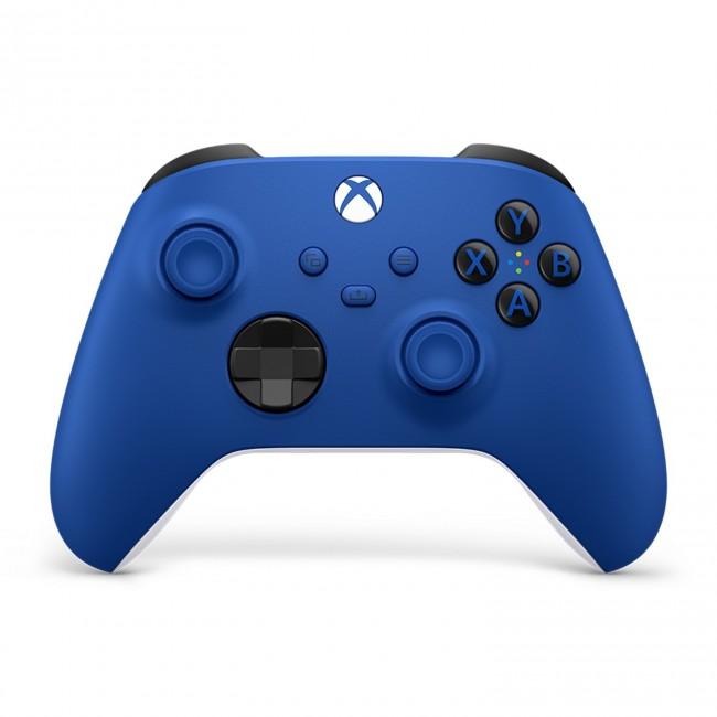 Microsoft Xbox kontroler bezprzewodowy niebieski - zdjęcie główne