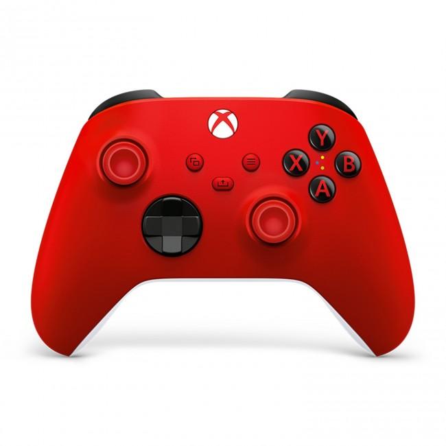 Microsoft Xbox kontroler bezprzewodowy Pulse Red - zdjęcie główne