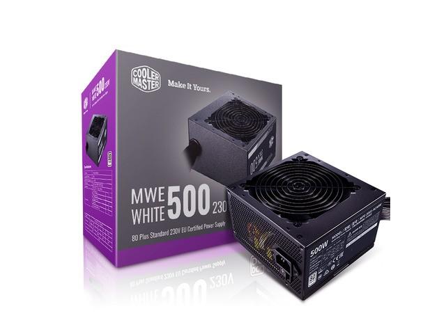 Cooler Master MWE White 500W V2 80+ - zdjęcie główne