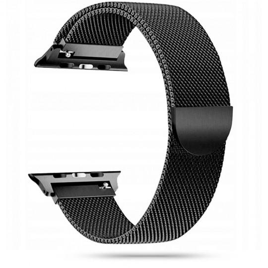 Tech-Protect Milaneseband Apple Watch 2/3/4/5/6/SE 42/44mm black - zdjęcie główne