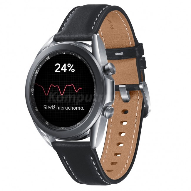 Samsung Galaxy Watch 3 41mm srebrny (R850) - zdjęcie główne